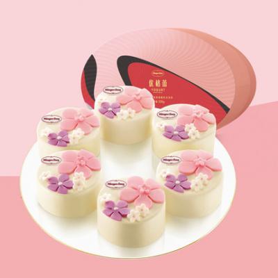 优格蕾悦享版-398型 2019哈根达斯中秋月饼礼券苏州月饼团购批发